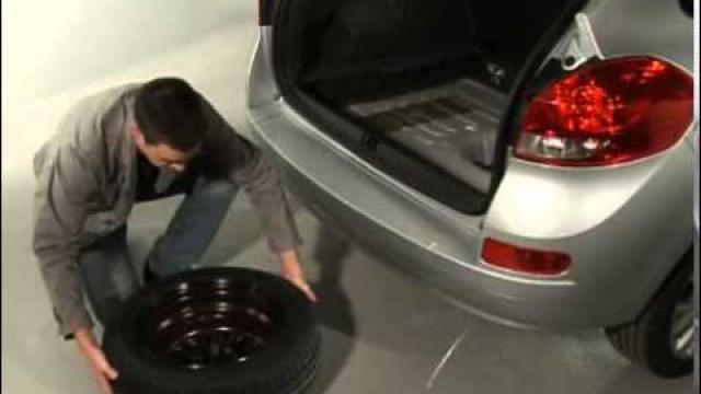 CLIO : Emergency spare wheel
