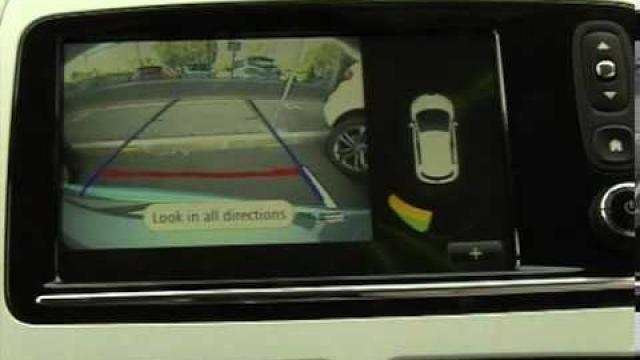 ZOE - CLIO : Parking distance control / Reversing camera