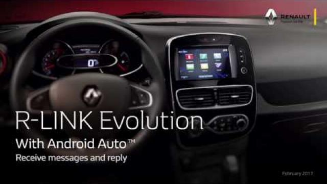 R-Link Evolution & Android Auto - ENG
