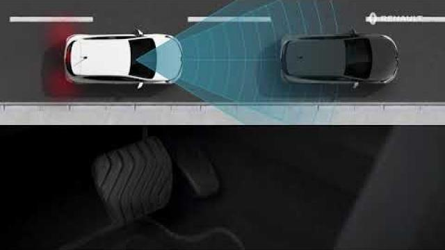 USING THE ACTIVE EMERGENCY BRAKING SYSTEM